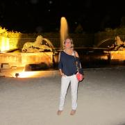Night Fountains show at Versailles, France